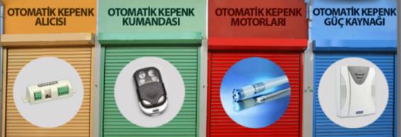 Otomatik kepenk alıcısı, Otomatik kepenk kumandası, otomatik kepenk motorları, otomatik kepenk güç kaynağı
